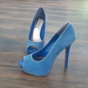 Steve Madden Peeptoe Stiletto Pumps